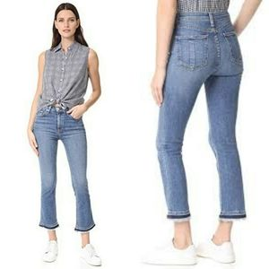 Rag and bone croyden cropped jeans